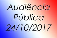 AUDIÊNCIA PÚBLICA / Secretaria Municipal de Saúde.