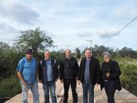 Nova ponte no Parque Primavera